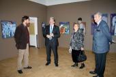 Бореслав Милошевич и Сергей Бабурин на выставке. Илья Комов и Черногория.