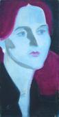 Портрет телеведущей Елены Писаревой 2008